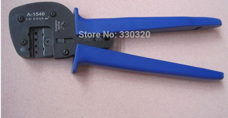 ==> [Free Shipping] Buy Best A-1546 terminal Crimping Tool for mc 4 type Solar connector 1.52.546mm2 crimp plier for Solar pv panel terminal Crimper Online with LOWEST Price | 32345117297
