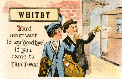 Image result for whitby  postcards