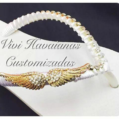 Havaianas customizadas # linda#josii