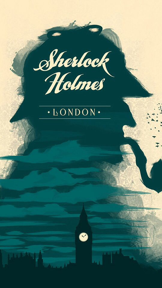 Sherlock Holmes Minimalist Poster Minimalist Movie