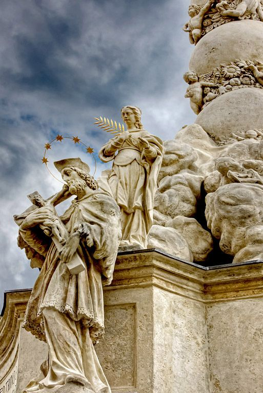 Part of the Sopron Plague Column 3 - Sopron, Vas
