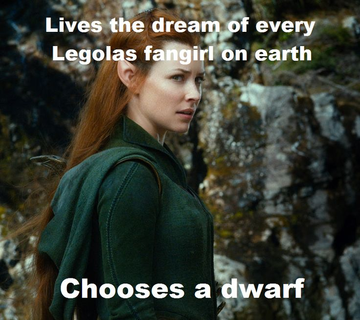 seriously... THINK ABOUT IT. LEGOLAS GREENLEAF HAS A CRUSH ON YOU.... YOU DONT PASS THAT UP!!!!