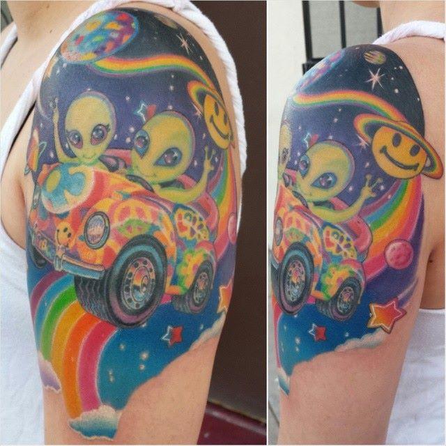 Zoomer and Zorbit tattoo #LisaFrank