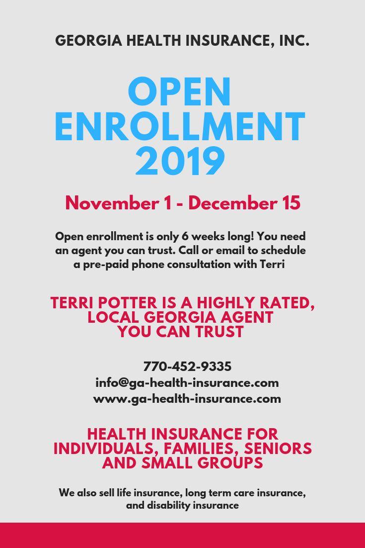 Health insurance open enrollment 2019 november 1