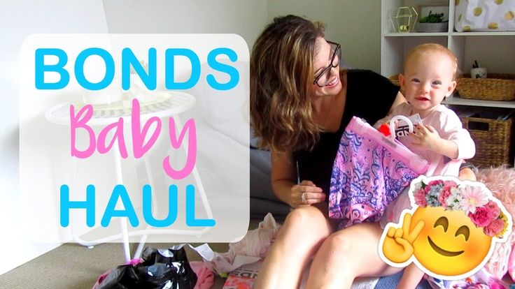BONDS BABY HAUL - YouTube