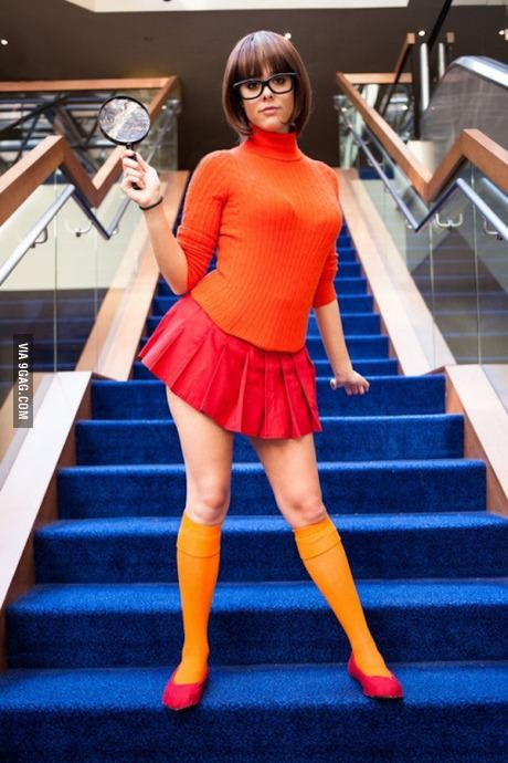 Jinkies! She can feed me Scooby snacks any day.