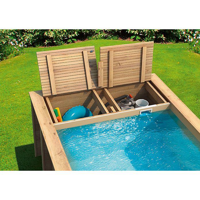 Mypool Massivholzpool Pool N The Box L X B X H 626 X 253 X 133 Cm 12 200 L Bauhaus Schwimmbad Landschaftsbau Diy Pool Ideen Pool Hinterhof