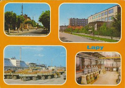Pocztówkowe podróże po Polsce: ŁAPY