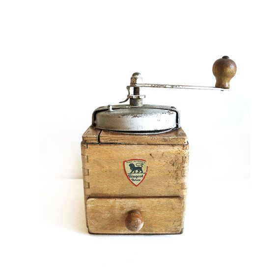Peugeot Frères Coffee Grinder French Vintage Coffee Mill