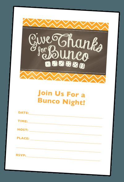 109 Best Bunco Images On Pinterest Bunco Party Card Stock And
