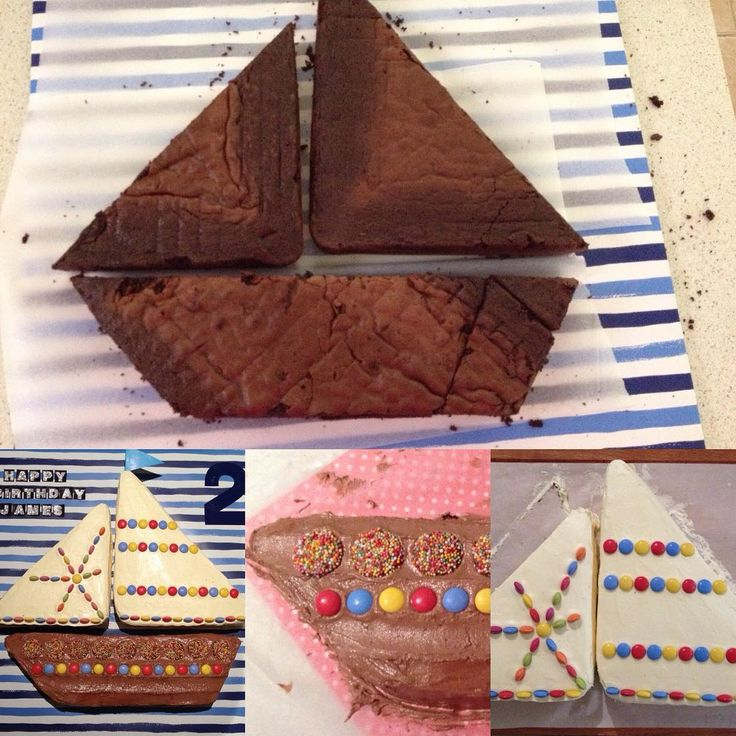 The making of an easy Sailboat Cake. By The Love of Cake Blog. Learn more by visiting www.theloveofcake.com