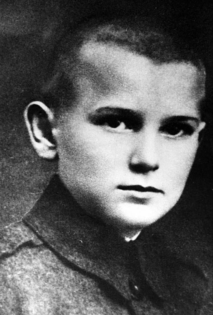 Karol Wojtyla, futuro Papa Juan Pablo II