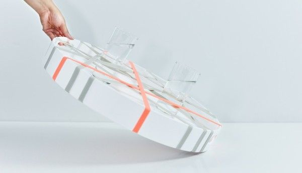 Modern Serving Trays Designed To Ensure Greater Grip And No Spillage