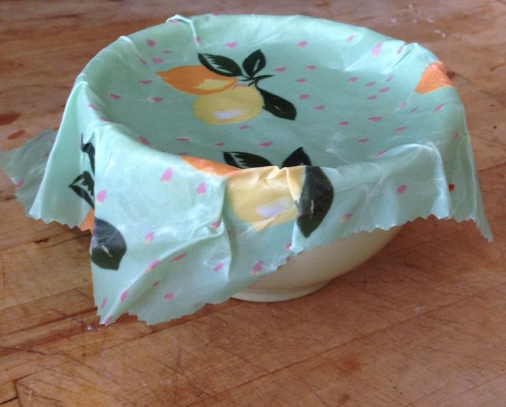 "After trying out the reusable Bee's Wrap for our ""Green Your Clean"" series, I wondered how easy it would be to make my own beeswax-coated food wrap."
