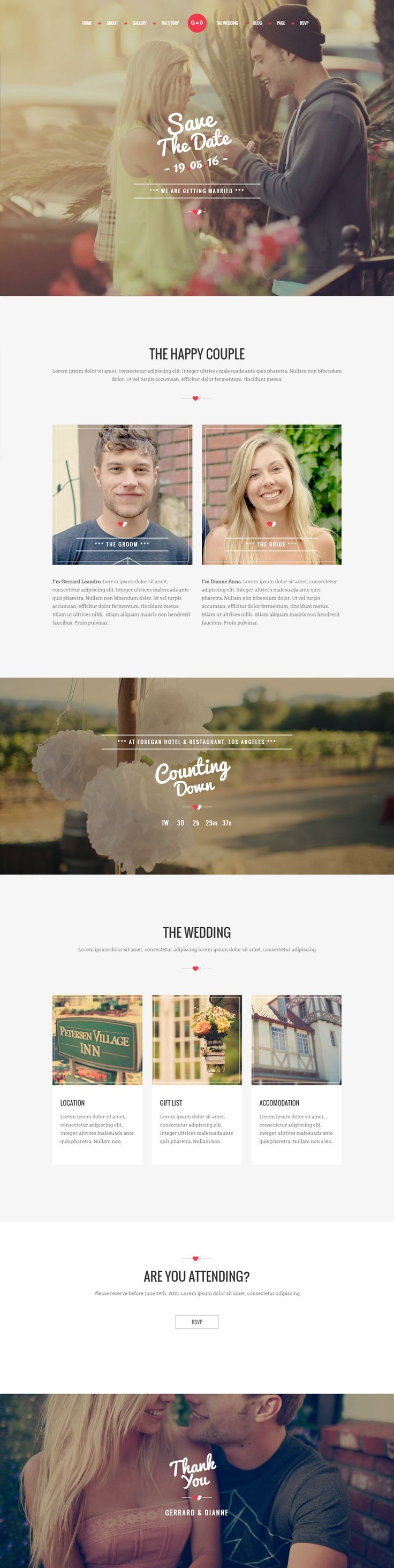 WP Forever is Premium Responsive Retina Parallax #WordPress #Wedding #Theme. Bootstrap 3. One Page. Visual Composer. Google Map. Test free demo at: http://www.responsivemiracle.com/wp-forever-premium-responsive-wordpress-wedding-theme/