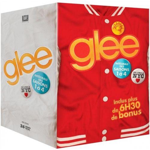 Coffret Glee intégrale saison 1 à 4 - DVD