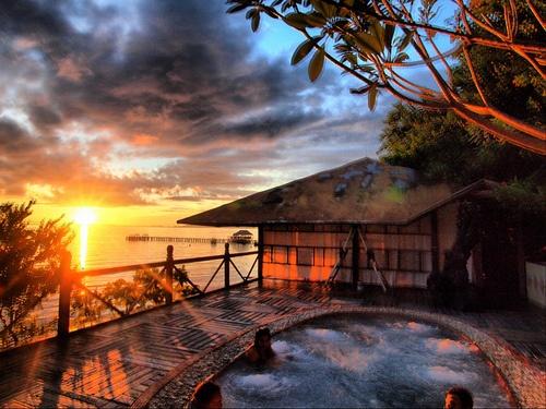 Walea Dive Resort, Walea Bahi Island, Togean Islands, Central Sulawesi, Indonesia.  (by vaga_mundos)