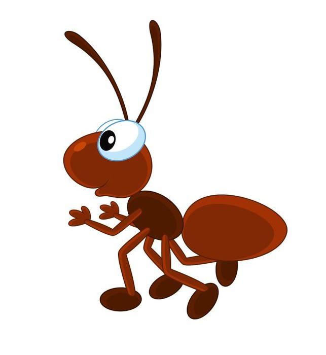 Картинки для детей муравей на прозрачном фоне