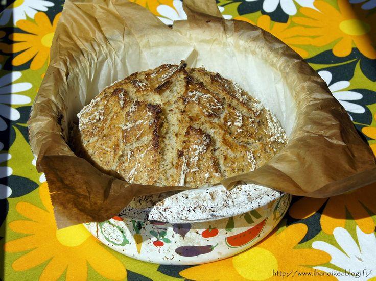 Ihan oikea blogi?: Gluteeniton Vaivaton ja Vaivaamaton leipä
