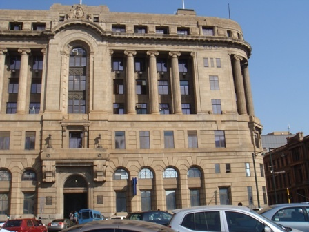 Standard Bank Building, Church Square, Pretoria, South Africa  Previously known as : President Hotel (1890 - 1895) / Grand Hotel (1895 - 1929)