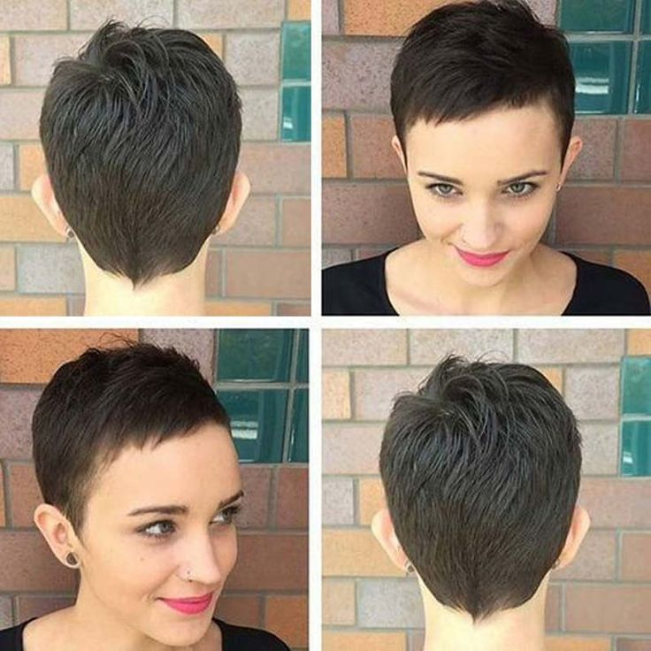 Brazilian Straight Hair Weave Short Virgin Human Hair 28 pieces Weave Extensions for Woman 4 inches Short Human Hair Pixie Cut