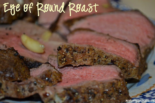 how to cook a peppered eye round steak rare