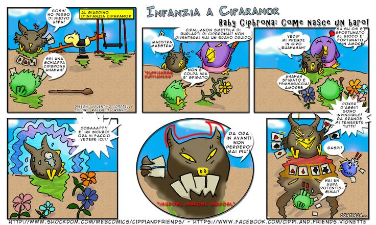 [#22]Tales of Cippannara: Infanzia a Ciparanor: Baby Cipbrona, come nasce un baro