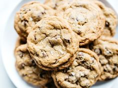 Super soft and chewy cookies to enjoy with a cold glass of milk.