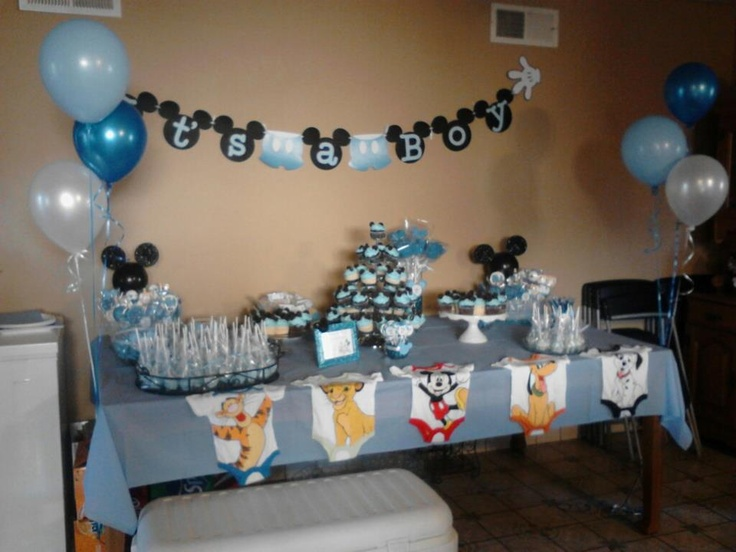 Image Of Mickey Mouse Baby Shower Items Mickey Mouse Baby Shower