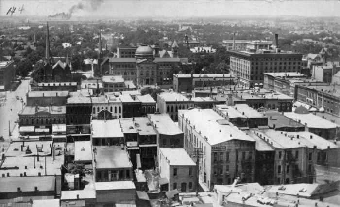 2 Aerial View Of South Bend Aerial View Photo Indiana
