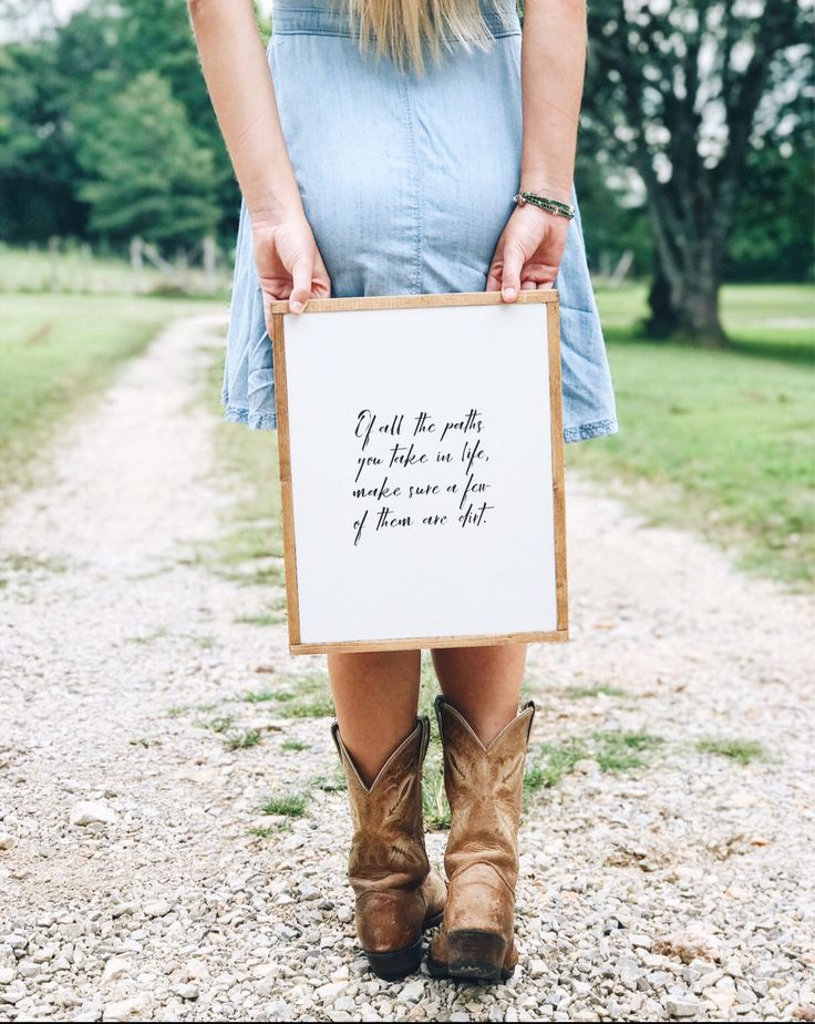 Of all the paths you take in life | quote sign | hiking sign | farmhouse decor | John Muir quote | adventure sign | nature quote | farmhouse by BettyAndMarieDesigns on Etsy https://www.etsy.com/listing/519193747/of-all-the-paths-you-take-in-life-quote