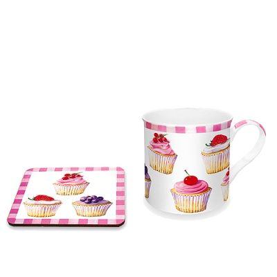 Kubek z korkową podkładką Nuova R2S Cupcakes 300 ml 29,00 zl