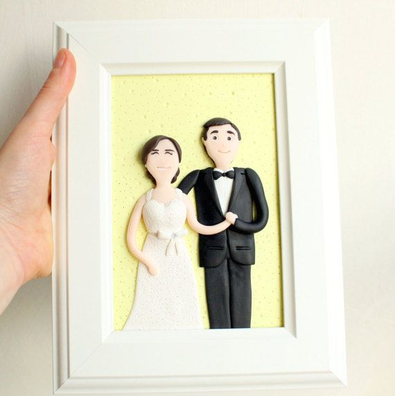 Custom wedding portrait custom couple portrait custom family