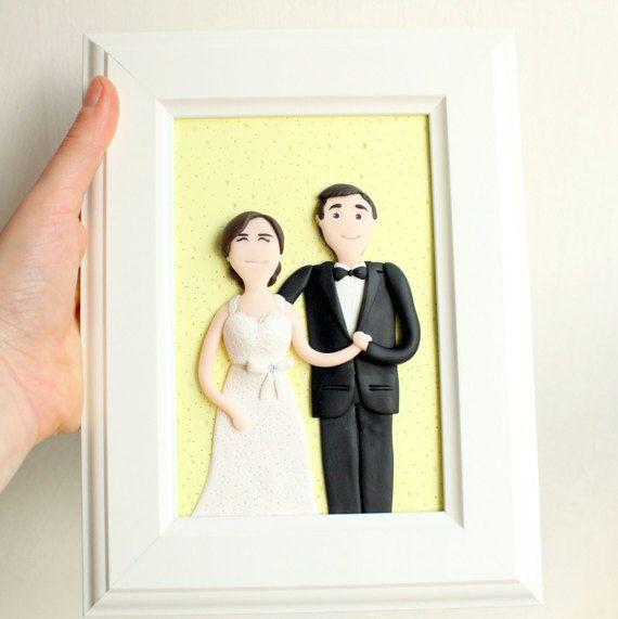 Custom wedding portrait custom couple portrait custom family