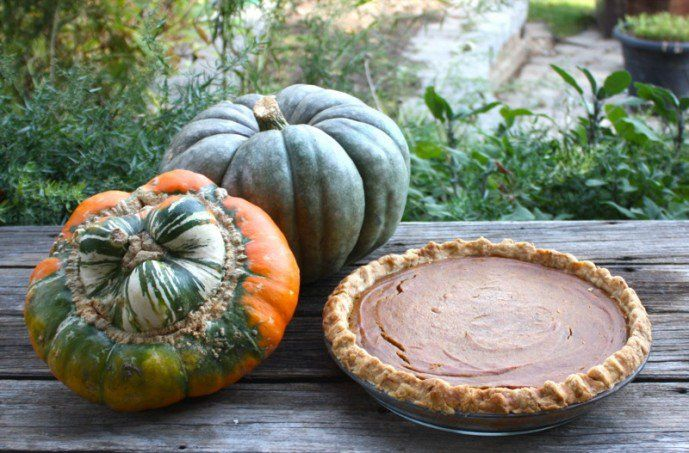Traditional Canadian Pumpkin Pie from the Prairies