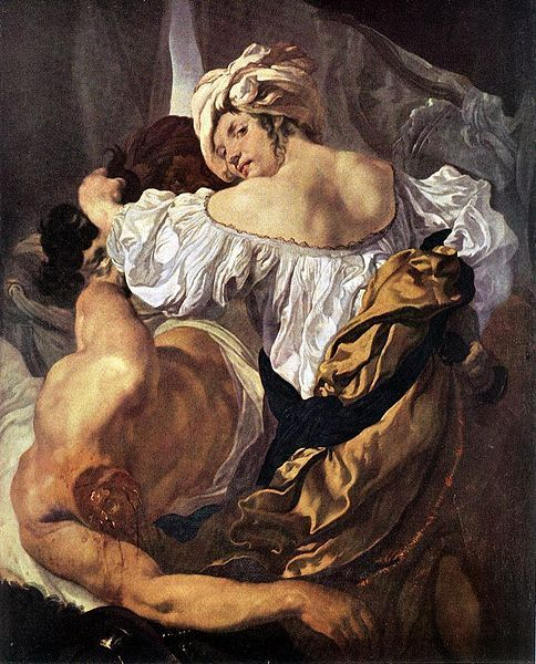 Judith und Holophernes  Johan Liss (bottega) Datum 1628 Technik Öl auf…