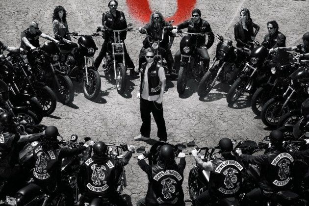 Sons of Anarchy season-love this pic of the cast of SOA