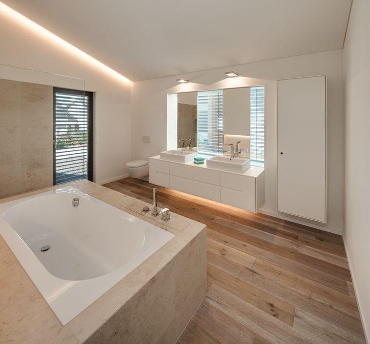 Die besten 25+ Badezimmerbeleuchtung Ideen auf Pinterest Moderne - badezimmer beleuchtung decke
