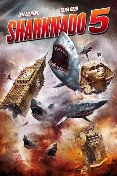 Fin and his wife April travel around the world to save their young son who's trapped inside a sharknado.