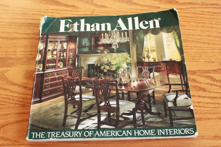 Vintage Ethan Allen Treasury Catalog Home Interiors 1982