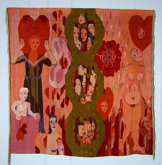 Mother's heart by Hannah Ryggen