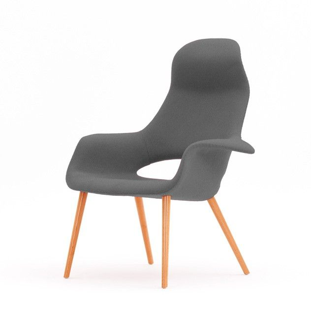 Organic High Back Chair