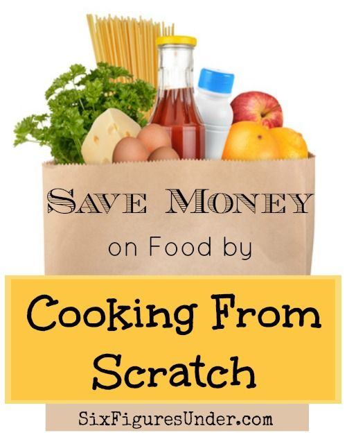 So far in 2014, we've spent an average of $239 a month on food for our family of 5. One of the ways we keep our costs down is by cooking from scratch. Here are some ideas to help you get started saving.