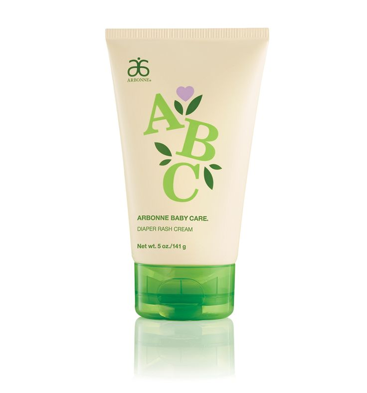 ABC Arbonne Baby Care Diaper Rash Cream #853 - Arbonne / For newborns, toddlers, or children of any age, our diaper rash cream is a rich, water-repelling formula that gently helps treat and prevent diaper rash. Created for baby's delicate skin, this unscented formula protects chafed skin and helps protect from wetness.