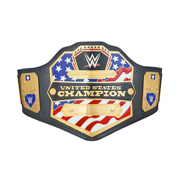 WWE United States Championship Adults Size Replica Belt (2014 version) ($455) ❤ liked on Polyvore featuring accessories, belts and wwe