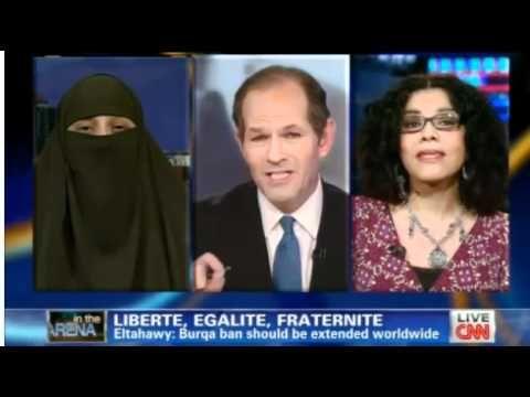 ▶ Mona Eltahawy on France's banning of face veils - YouTube