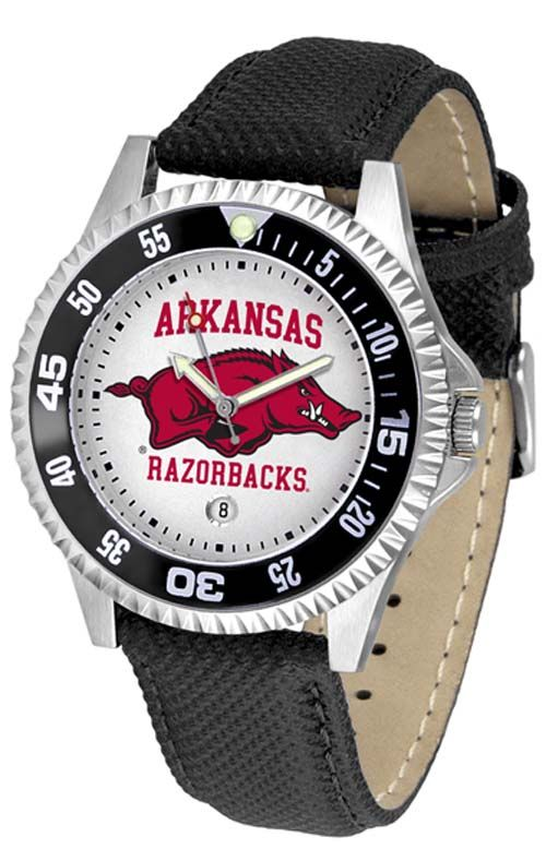 Arkansas Razorbacks Competitor Men's Watch by Suntime