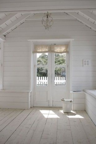 """total white - this in the yard. nice little getaway at home! an """"office""""!!!"""