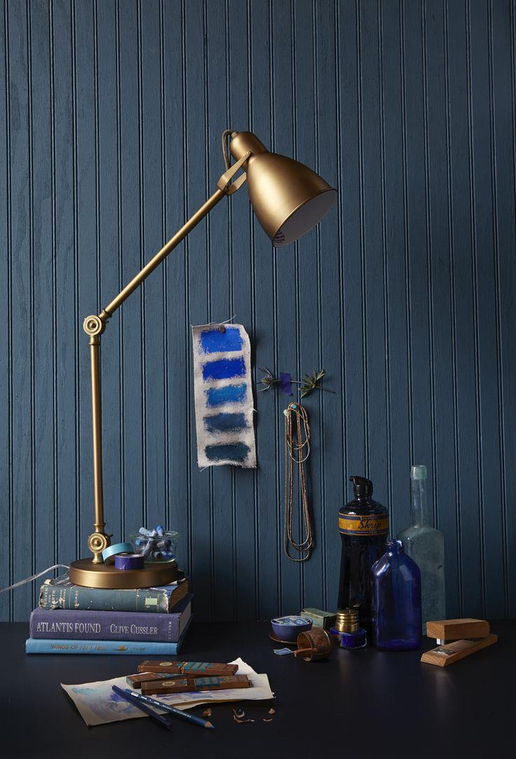 koper - donkerblauw