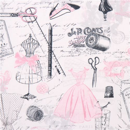 tailor fashion Paris Timeless Treasures vintage sew fabric 1